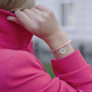 Biżuteria ACHA Studio Biżuterii - bransoletki BE PATIENT FOLLOW YOUR HEART