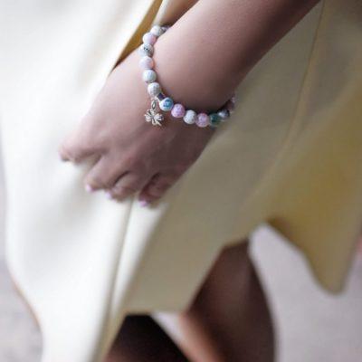 Biżuteria w stylizacji Agnieszki - bransoletka ALWAYS BE POSITIVE