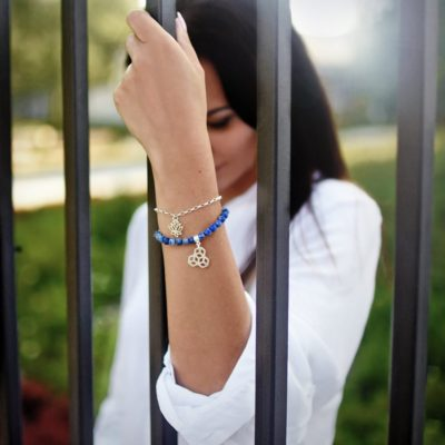 Biżuteria w stylizacji Agnieszki - zestaw bransoletek REVIVAL NEW, TAKE CONTROL