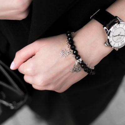 Biżuteria w stylizacji Anny - zestaw bransoletek NEVER SAY NEVER, REVIVAL