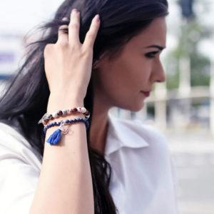 Biżuteria w stylizacji marki BEE COLLECTION - bransoletki IT'S YOUR TIME, TAKE IT EASY