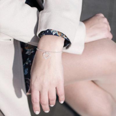 Bransoletka FOLLOW YOUR HEART w stylizacji ACHA Studio Biżuterii