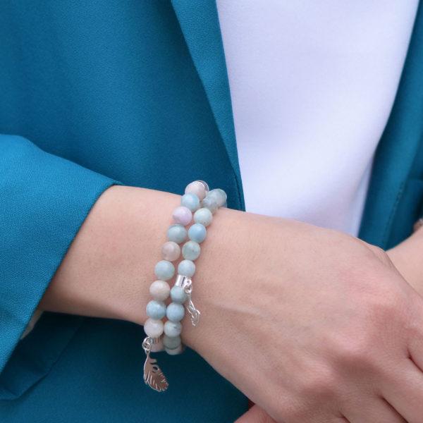 Bransoletki YOU DECIDE, ENJOY YOUR LIFE w stylizacji ACHA Studio Biżuterii