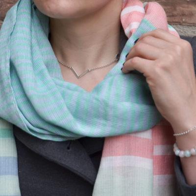 Srebrny naszyjnik w stylizacji ACHA Studio Biżuterii