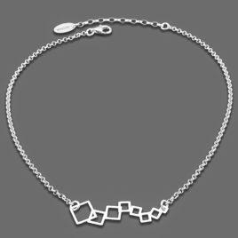 srebrny naszyjnik