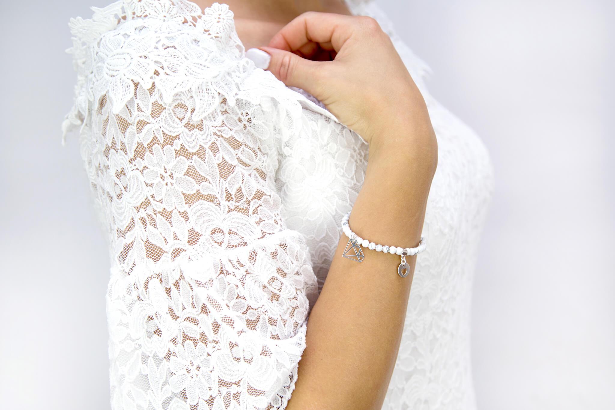 bransoletka damska z kamieni