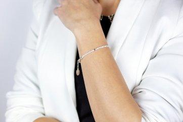 bransoletka damska z kamieni księżycowych