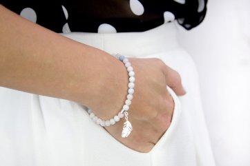 bransoletka damska na rękę